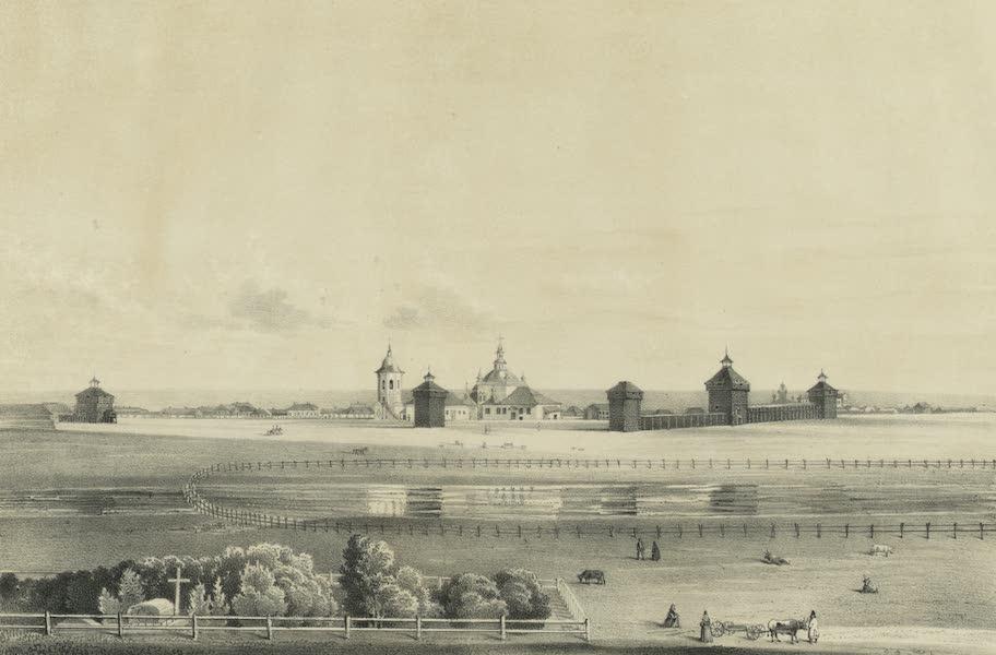 Puteshestvie po vostochnoi Sibiri - Vid starago iakutskago ostroga (1856)