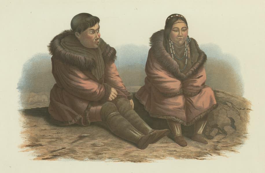 Puteshestvie po vostochnoi Sibiri - Sidiachie koriaki (1856)