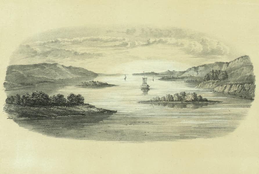 Puteshestvie po vostochnoi Sibiri - Vid na reke Lene mezhdu Iakutskom i Olekminskom (1856)