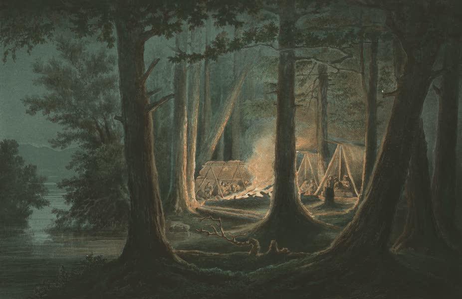 Puteshestvie po vostochnoi Sibiri - Nochleg na reke Urake po Okhotskomu traktu (1856)