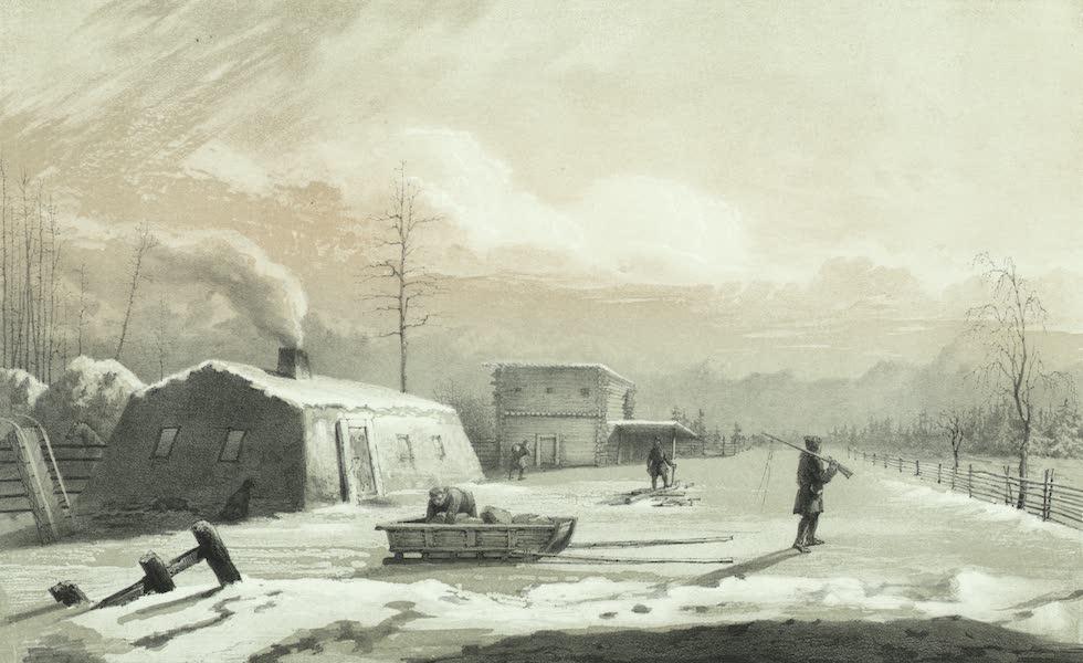 Puteshestvie po vostochnoi Sibiri - Zimniaia iakutskaia iurta (1856)