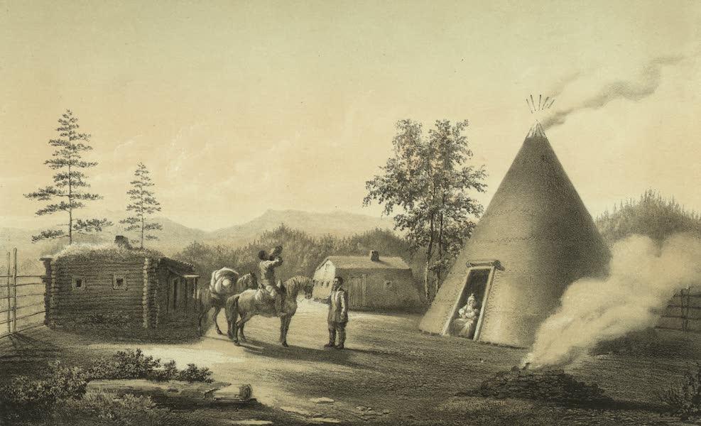 Puteshestvie po vostochnoi Sibiri - Letniia iakutskiia iurty (1856)