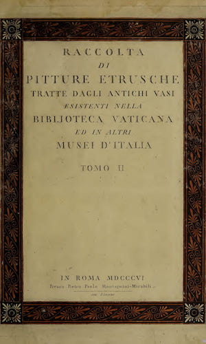 Wellcome Collection - Raccolta di Pitture Etrusche Vol. 2