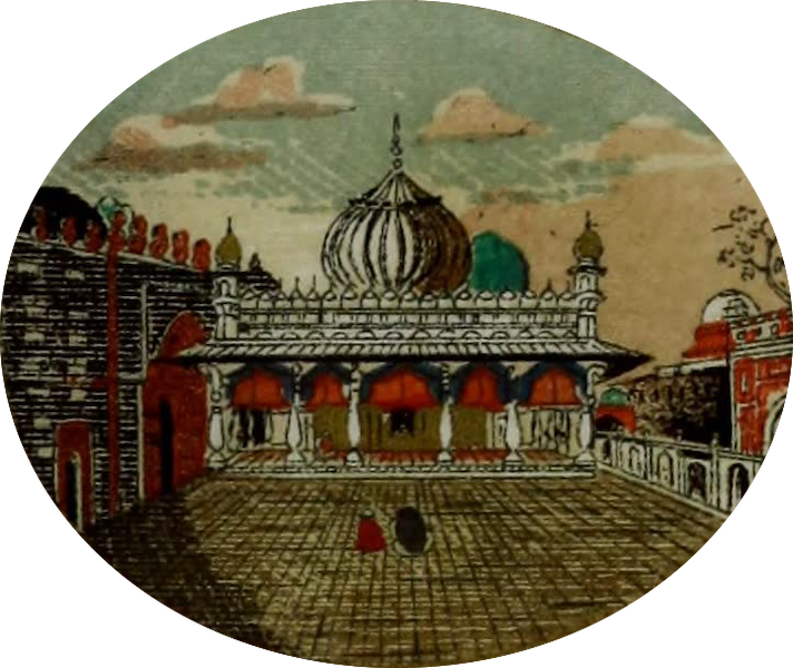 Rambles and Recollections of an Indian Official Vol. 2 - Mausoleum of Nizamoodeen Ouleea (1844)