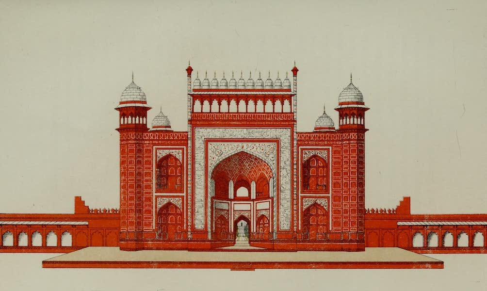 Rambles and Recollections of an Indian Official Vol. 2 - Gateway of the Taj (1844)