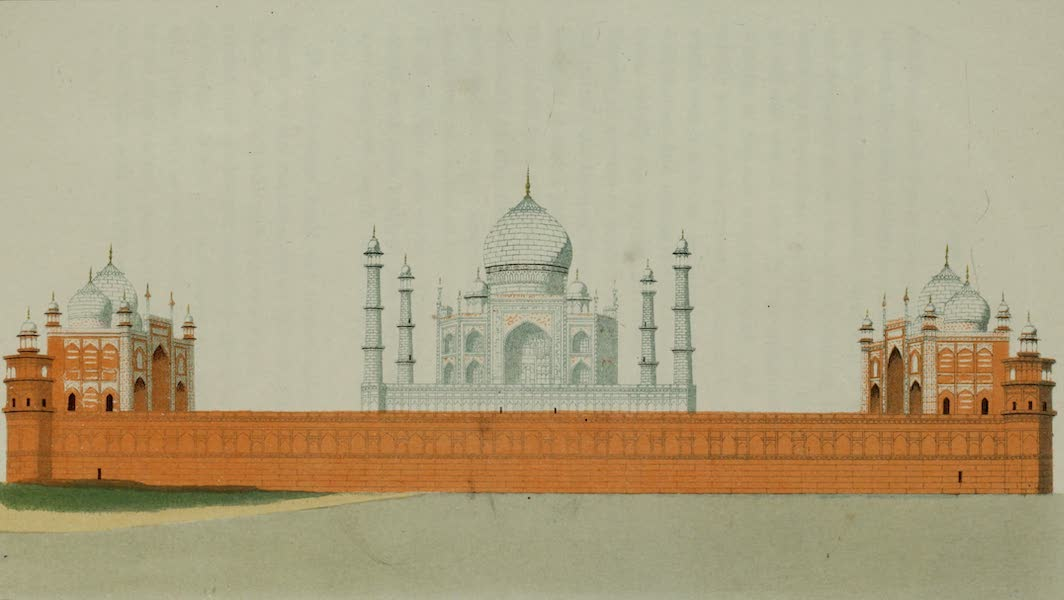 Rambles and Recollections of an Indian Official Vol. 2 - The Taj from the River (1844)