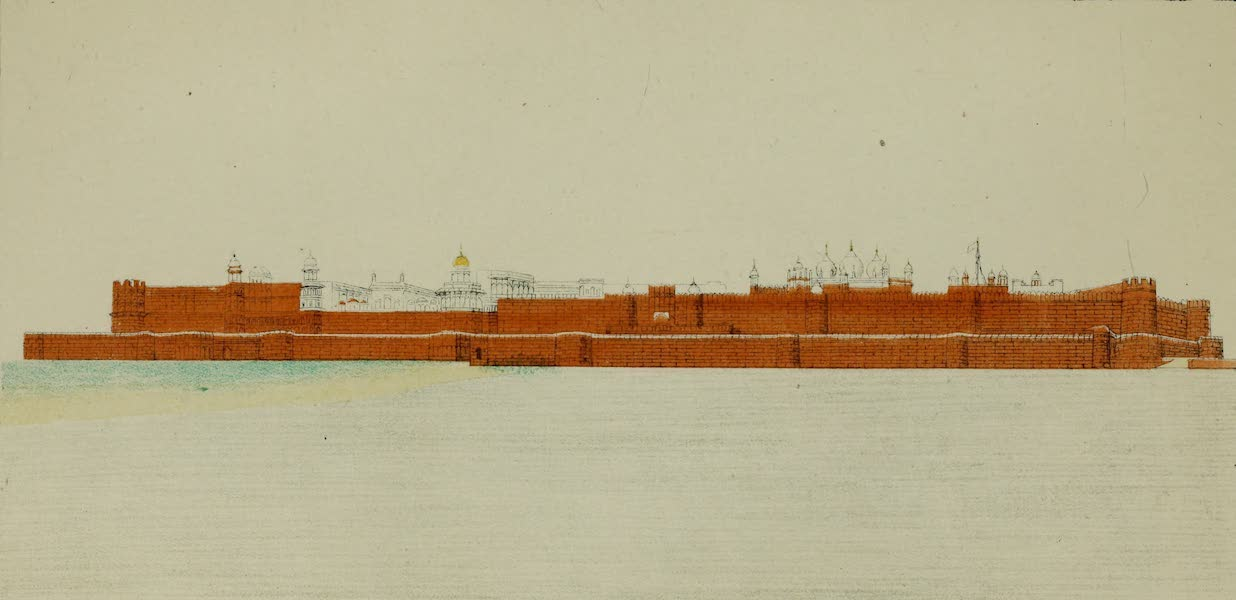 Fort of Agra from the River