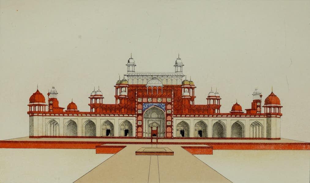 Tomb of Emperor Akbar at Secundra