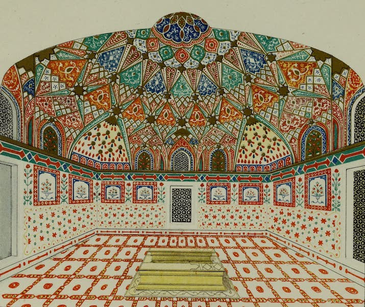 Rambles and Recollections of an Indian Official Vol. 2 - Interior of the Tomb of Akbar (1844)