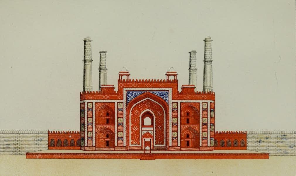 Gateway to Akbars Tomb
