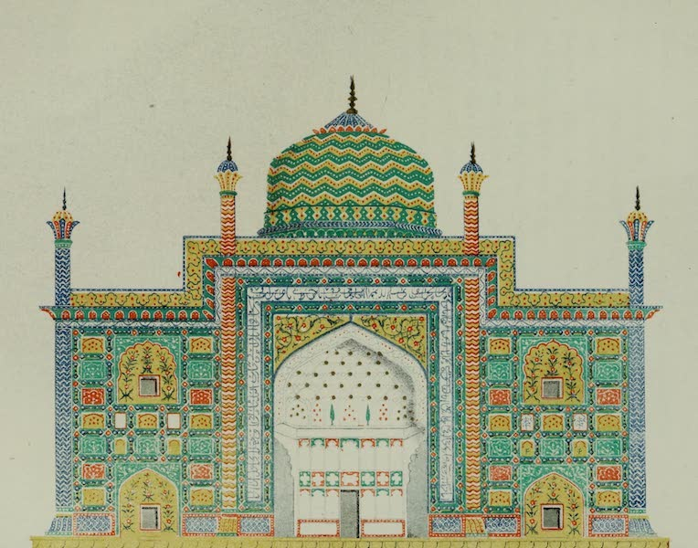 Rambles and Recollections of an Indian Official Vol. 2 - China Tomb at Agra, an old mausoleum now in Ruins (1844)