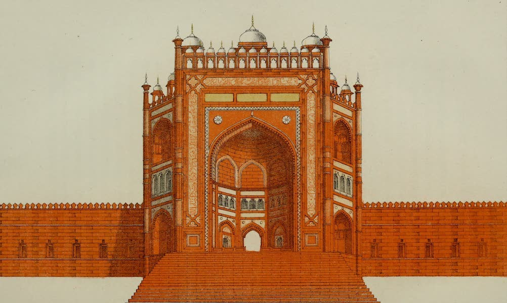 Rambles and Recollections of an Indian Official Vol. 2 - Gateway to the Tomb of the Saint Salee, at Guttehpore Secree (1844)