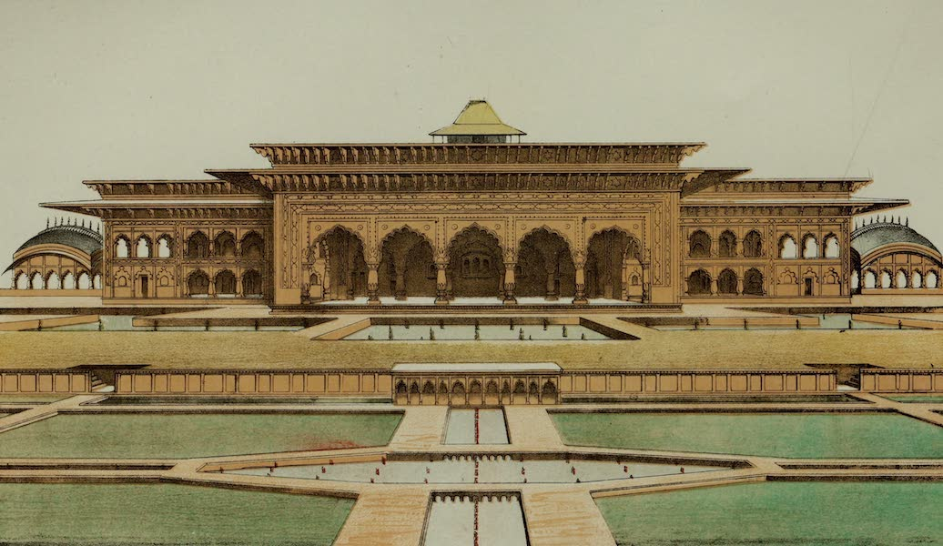 Rambles and Recollections of an Indian Official Vol. 2 - Pavilion on one side of the Garden at Deeg (I) (1844)