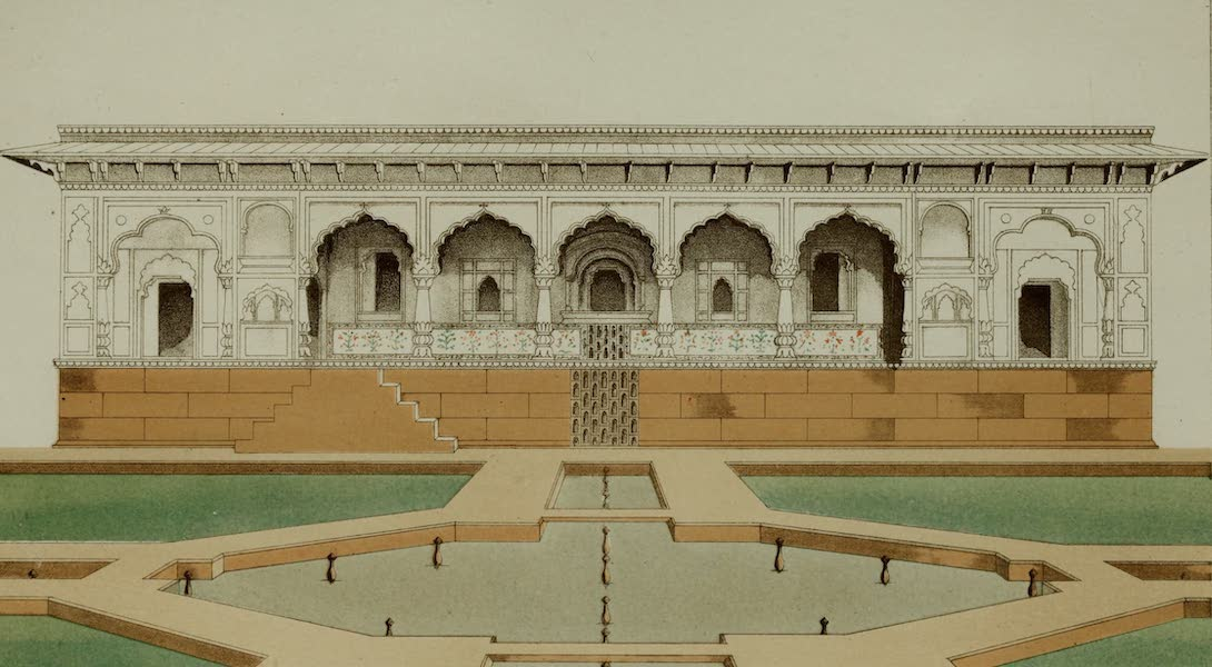 Rambles and Recollections of an Indian Official Vol. 2 - Pavilion on one side of the Garden at Deeg (III) (1844)