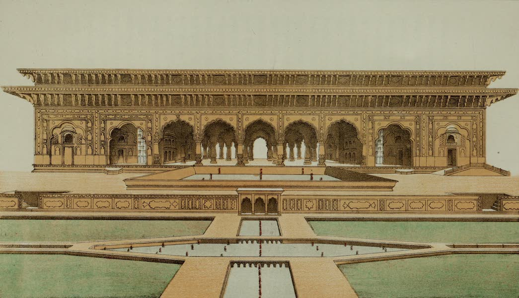 Rambles and Recollections of an Indian Official Vol. 2 - Pavilion on one side of the Garden at Deeg (IV) (1844)