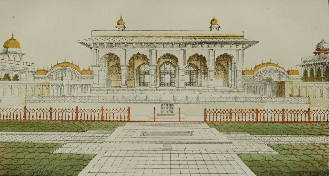 Rambles and Recollections of an Indian Official Vol. 2 - Dewan Khans Palace at Delhi (1844)