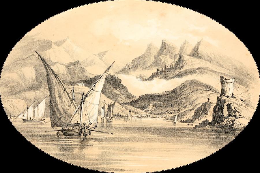 Rambles in the Islands of Corsica and Sardinia - Ersa, Capo Corso (1861)