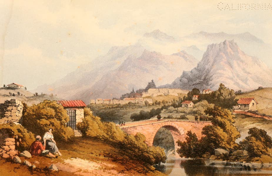 Rambles in the Islands of Corsica and Sardinia - Corte (1861)