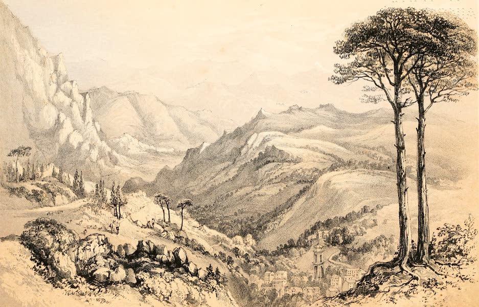 Rambles in the Islands of Corsica and Sardinia - Vivario (1861)