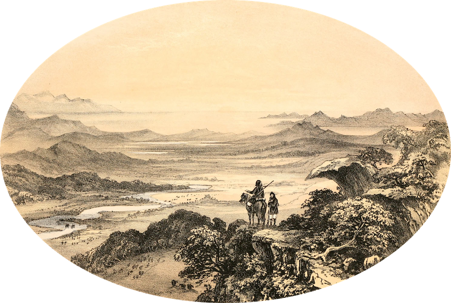 Rambles in the Islands of Corsica and Sardinia - Valley of the Liscia, Sardinia (1861)