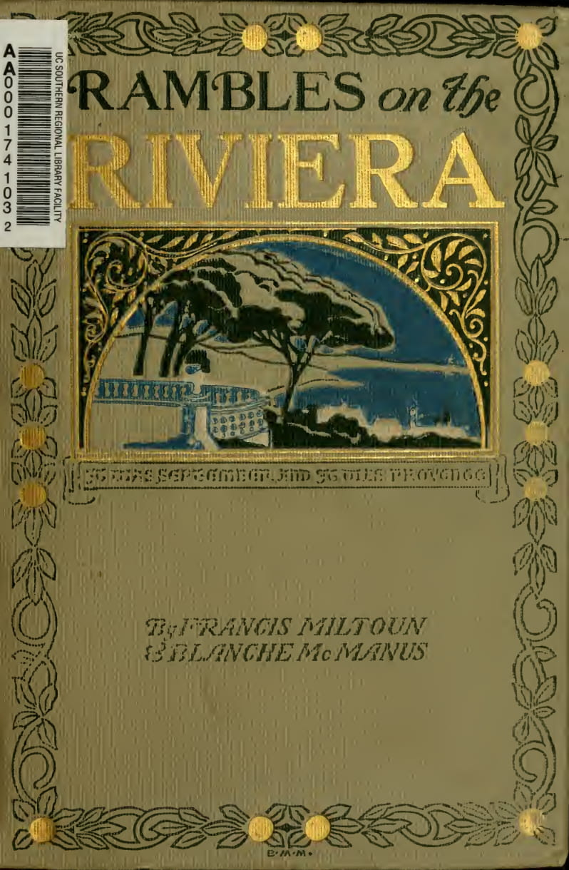 California Digital Library - Rambles on the Riviera