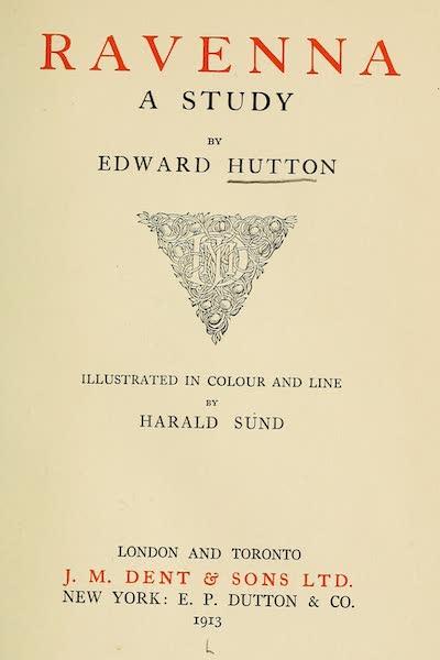 Ravenna, a Study - Title Page (1913)