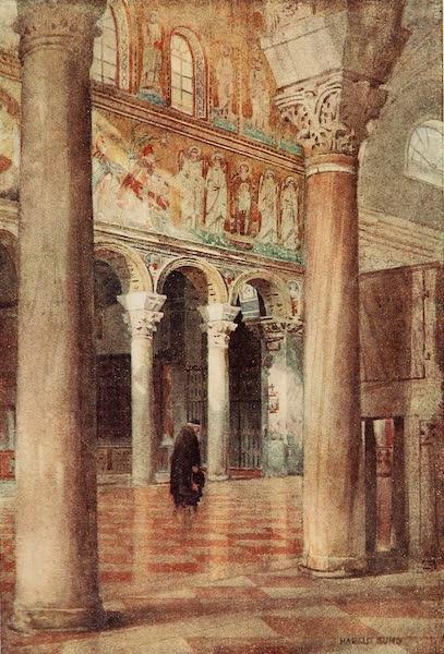 Ravenna, a Study - S. Apollinare Nuovo (1913)