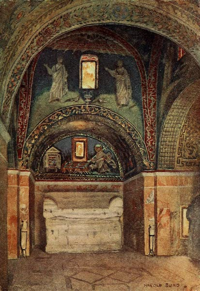 Ravenna, a Study - The Mausoleum of Galla Placidia (1913)