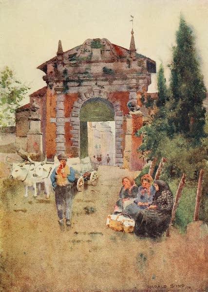 Ravenna, a Study - Porta Serrata (1913)