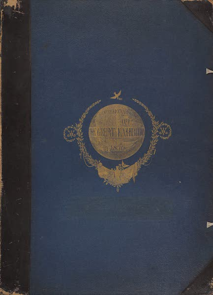 Recollections of the Great Exhibition - Front Cover (1851)
