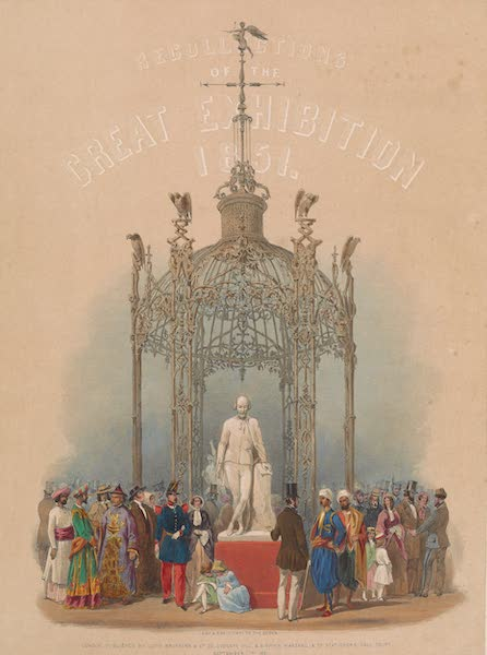 Recollections of the Great Exhibition - Title Page - The Coalbrookdale Dome (1851)