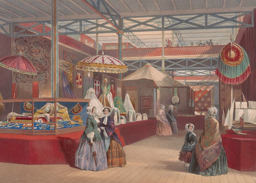 Recollections of the Great Exhibition - The Indian Tent (1851)