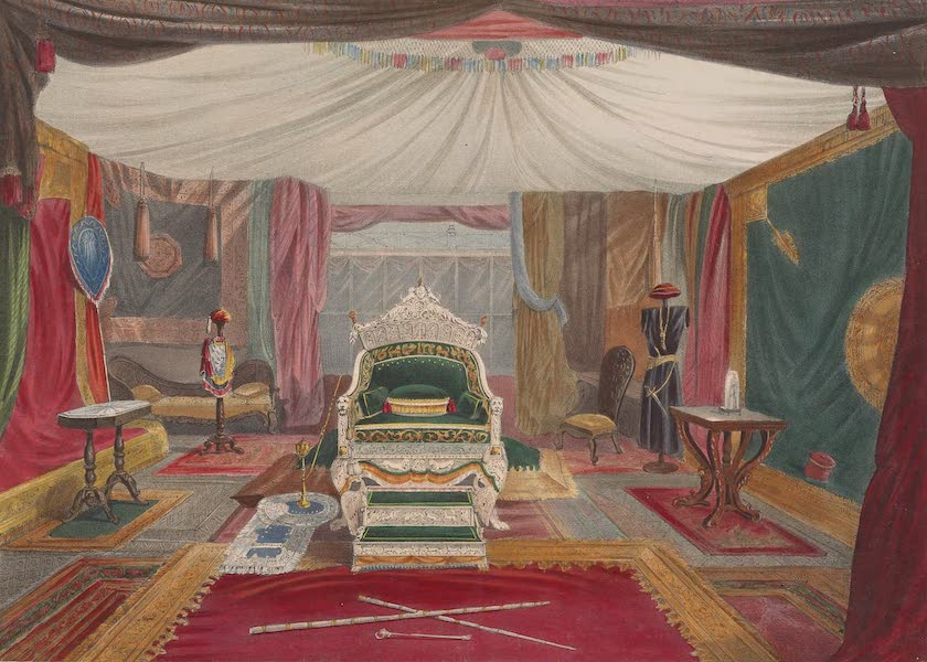 Recollections of the Great Exhibition - The Indian Court (No. 2) (1851)