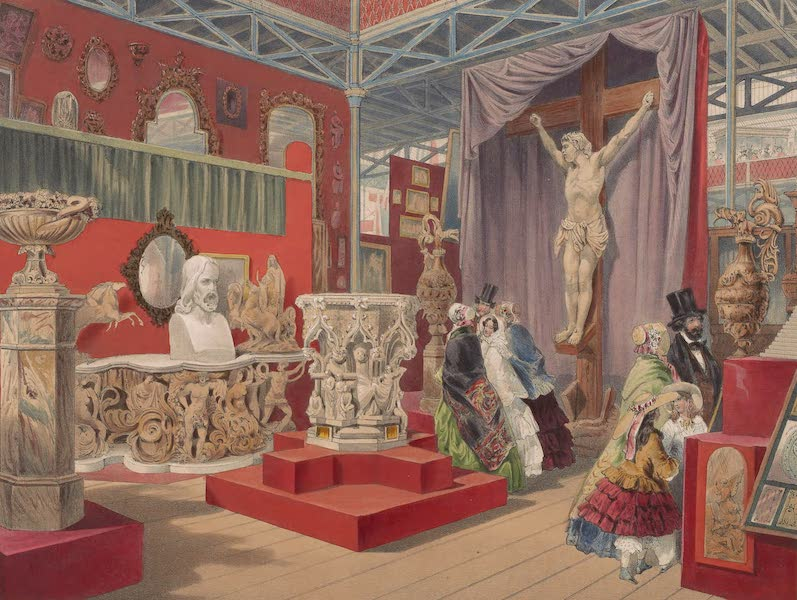 Recollections of the Great Exhibition - In the Fine Arts Court (1851)
