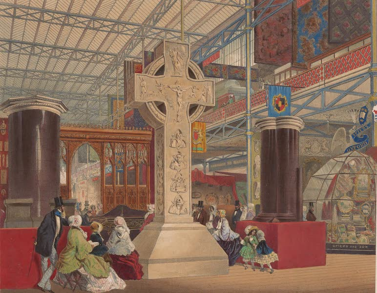 Recollections of the Great Exhibition - In the West Nave (1851)