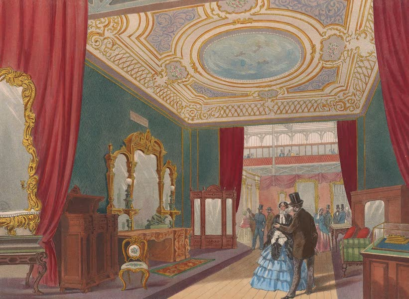 Recollections of the Great Exhibition - The Furniture Court (No. 2) (1851)