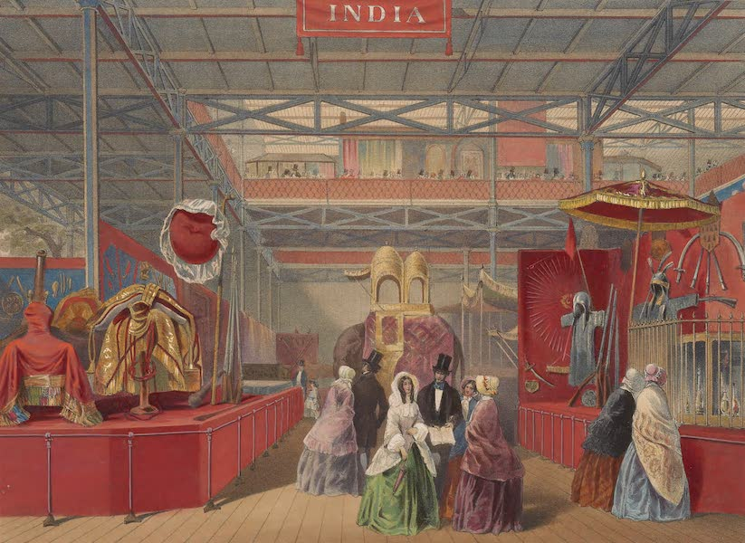 Recollections of the Great Exhibition - India Court (No. 1) (1851)