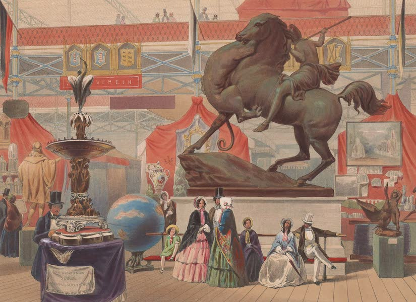 Recollections of the Great Exhibition - The Amazon (East Nave) (1851)