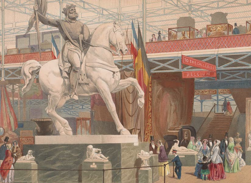 Recollections of the Great Exhibition - Godfrey of Bouillon, (East Nave) (1851)