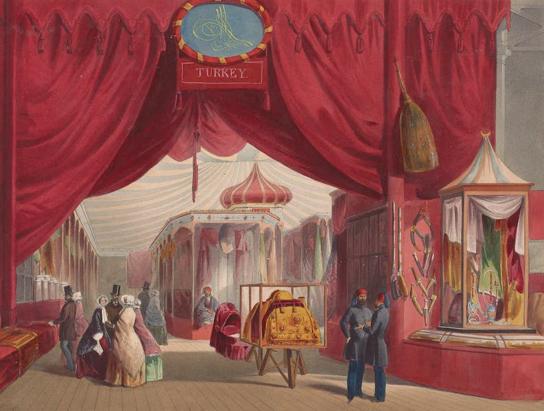 Recollections of the Great Exhibition - The Turkish Court (1851)