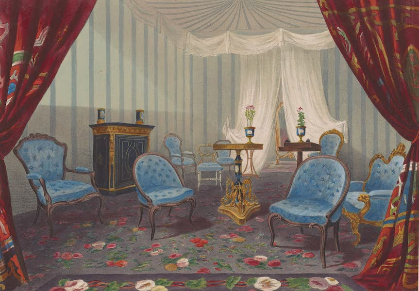 Recollections of the Great Exhibition - Her Majesty's Retiring Room (1851)
