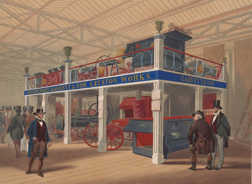Recollections of the Great Exhibition - In the Agricultural Court (1851)