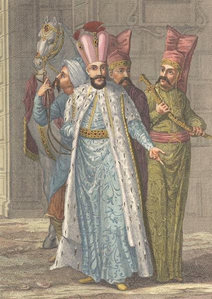 Recueil de Cent Estampes Representant Differentes Nations du Levant - Le Grand Seigneur en habit de Ceremonies (1714)