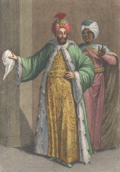 Le Grand Seigneur dans Le Serrail