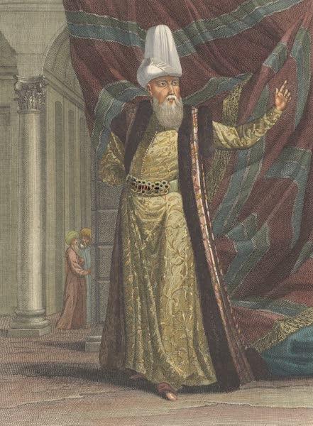 Recueil de Cent Estampes Representant Differentes Nations du Levant - Le Grand Visir, en Habit et en Turban de ceremonie (1714)