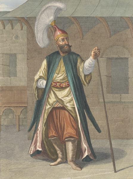 Tchorbadgi, Capitaine des Jannissaires