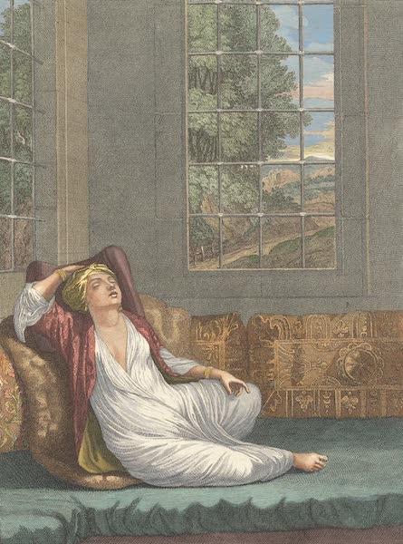 Femme Turque qui repose sur le Sopha sortant du bain