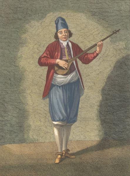 Grec des Isles de l' Archipel jouant du Taboura
