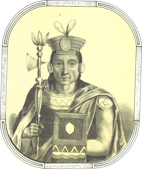 Recuerdos de la Monarquia Peruana - Sinchi Rocca (1850)