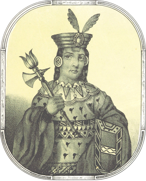 Recuerdos de la Monarquia Peruana - Huira Ccocha Inca (1850)
